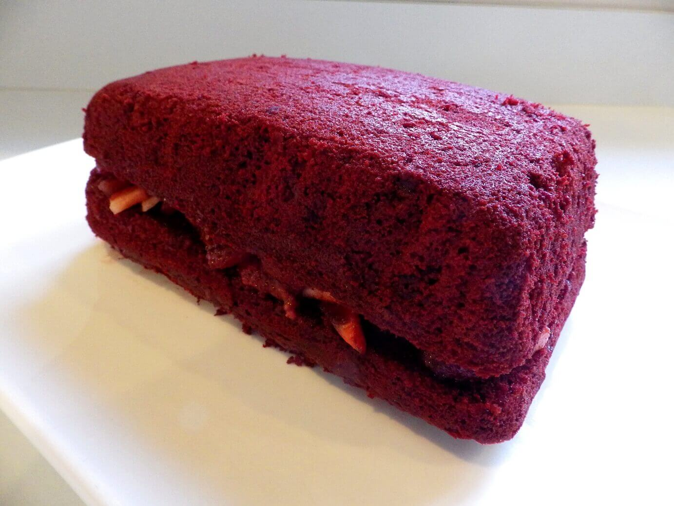 Red Velvet Loaf Cake Recipe