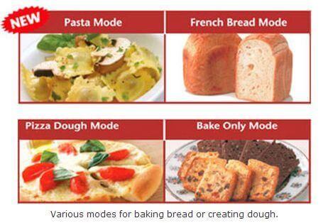 panasonic-bread-maker-modes