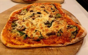 BAKED - Pizza 10 - Pizza Margherita