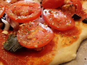 PREP - Vegetarian Pizza 1