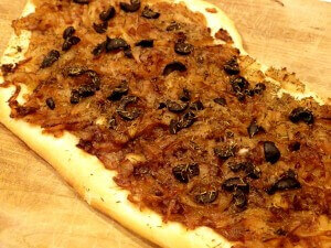 pissaladiere baked