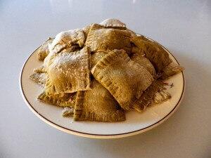10 - ravioli ready for the pot