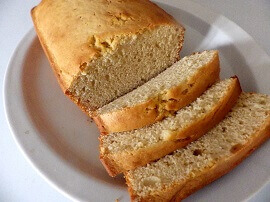 4 - pound cake sliced - small