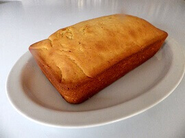 8 - pound cake loaf - small