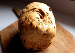 Rapid Rise Raisin Bread - Whole loaf