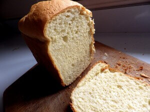 Rapid Rise Sweet Hawaiian Bread - sliced