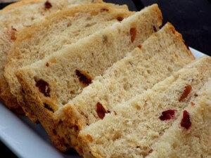 7 - trail mix bread sliced