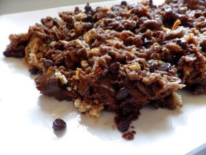 3 - walnut chocolate chip cookie dough