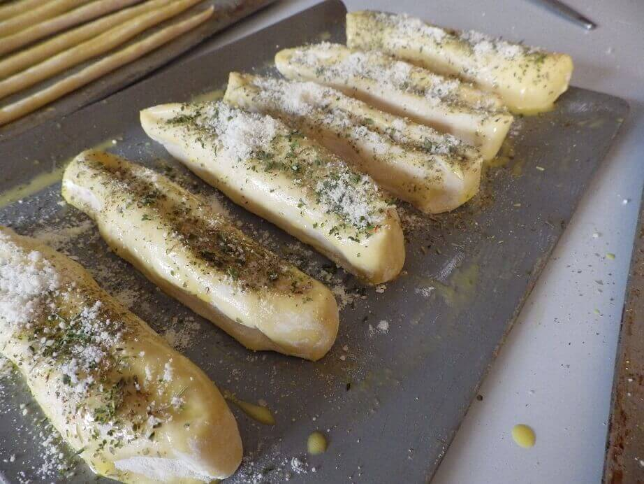 Making Breadsticks With Your Bread Machine