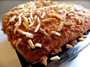 Cinammon sugar coffee cake loaf