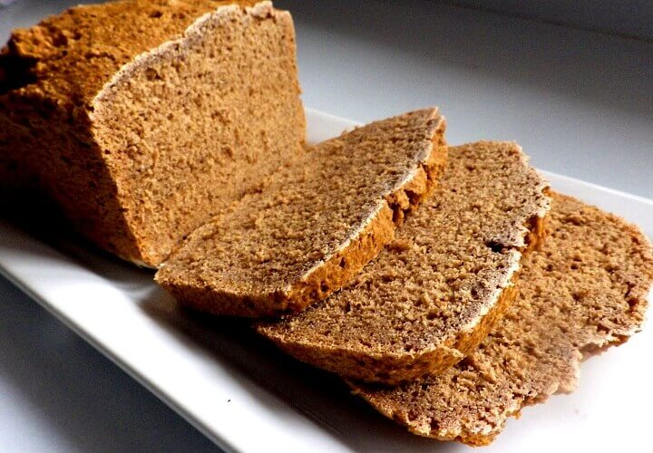 4 - pumpernickel sliced