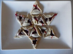 16 - Hamantachen Star of David