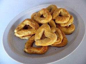 7 - heart shaped pretzels
