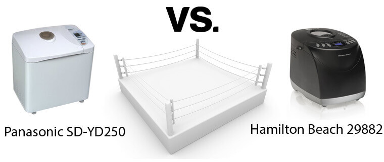 Panasonic SD-YD250 Vs. Hamilton Beach 29882