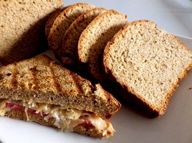reuben rye bread loaf - 3 - medium