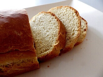 white beer bread sliced - 2 - small