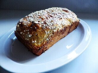 oatmeal bread loaf 3 - small