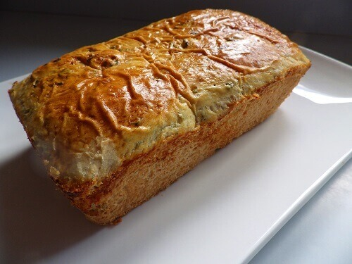 1 - Sweet Mint Bread Loaf