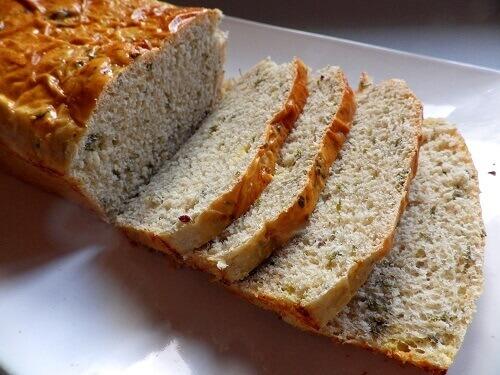 2 - Sweet Mint Bread - Sliced