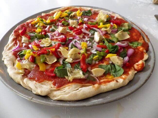 gluten free pizza dough recipe bread machine