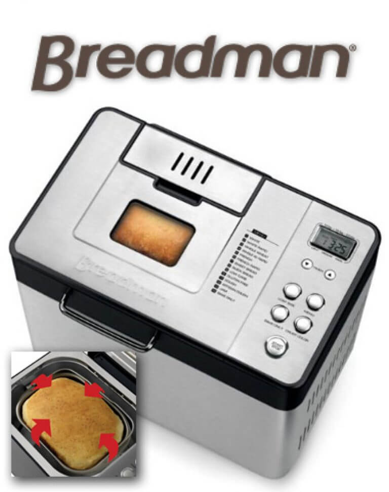 Breadman BK1050S Bread Machine – Full Review