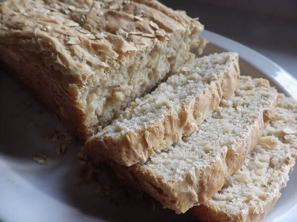 Light Oat Bread | Bread Machine Recipes