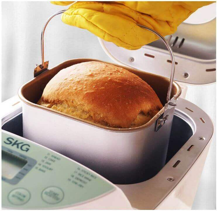 SKG Automatic 2-Pound Bread Maker-3