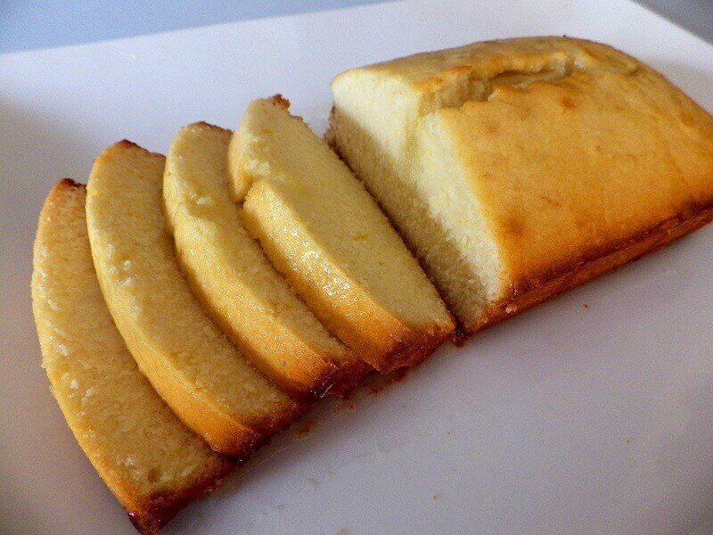 Bread Machine Pound Cake