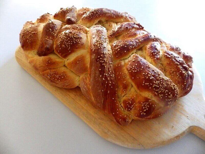 challah recipes for bread machine