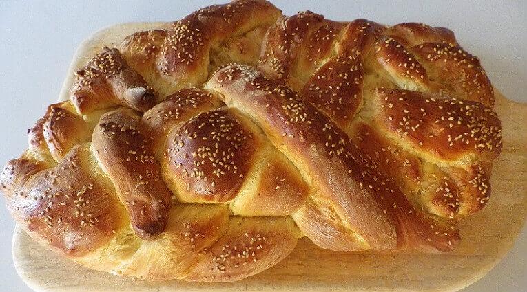 challah recipe for bread machine