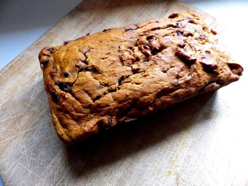 bread machine chocolate chip bread