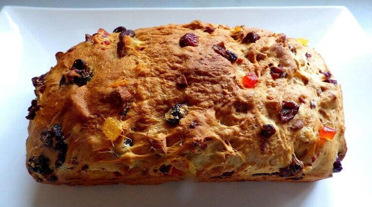 Bread Machine Fruit Cake Recipe