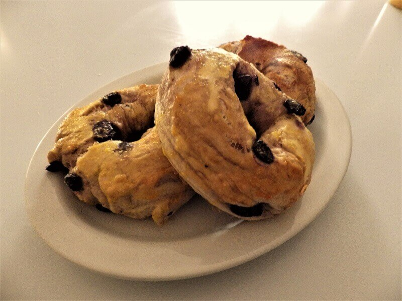 Blueberry Bagels | Bread Machine Recipes Blueberry Bagel