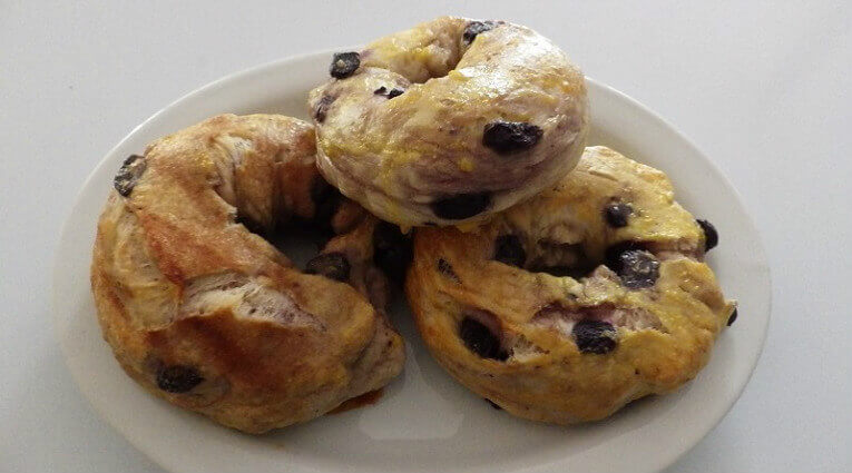 blueberry bagels bread machine recipes