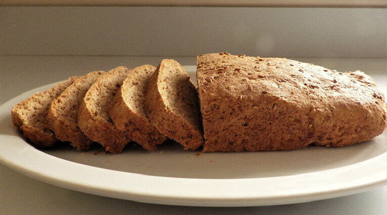 Low Carbohydrate Wheat Bread Recipe