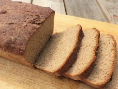 100% Whole Wheat Bread Recipe (Vegan)