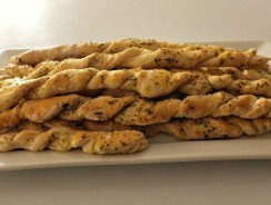 Garlic-Herb Breadsticks Recipe