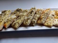 Mozzarella Herb Breadsticks Recipe