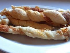 Prosciutto-Parmesan Breadsticks Recipe