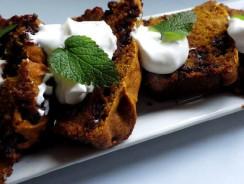 Chocolate Chip Pumpkin Cake Bread Recipe